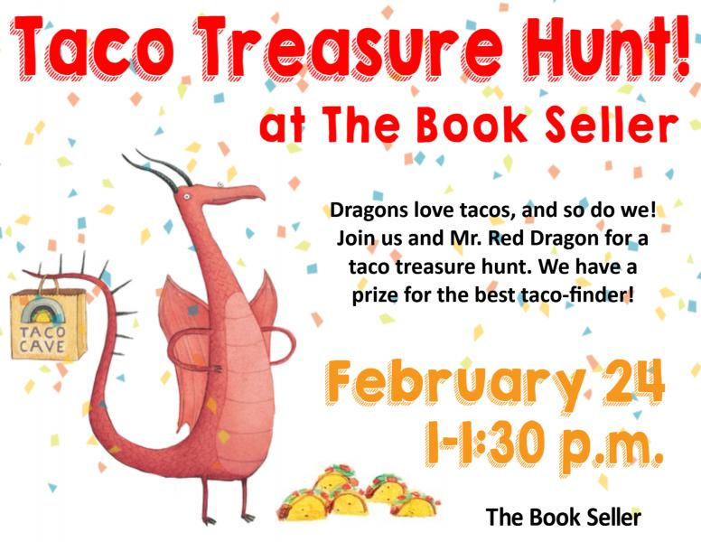 Taco Treasure Hunt The Book Seller